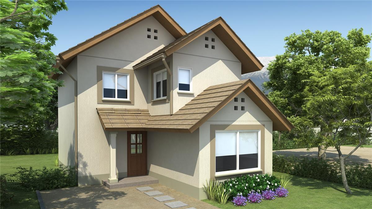Proyecto alto sacramento casa en venta ruta sur 2110 km for Modelos de casas de 2 pisos