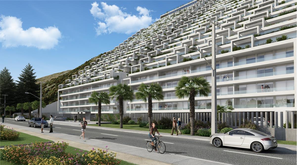 Proyecto edificio terrazas de cochoa departamento en for La terraza de la casa barranquilla telefono