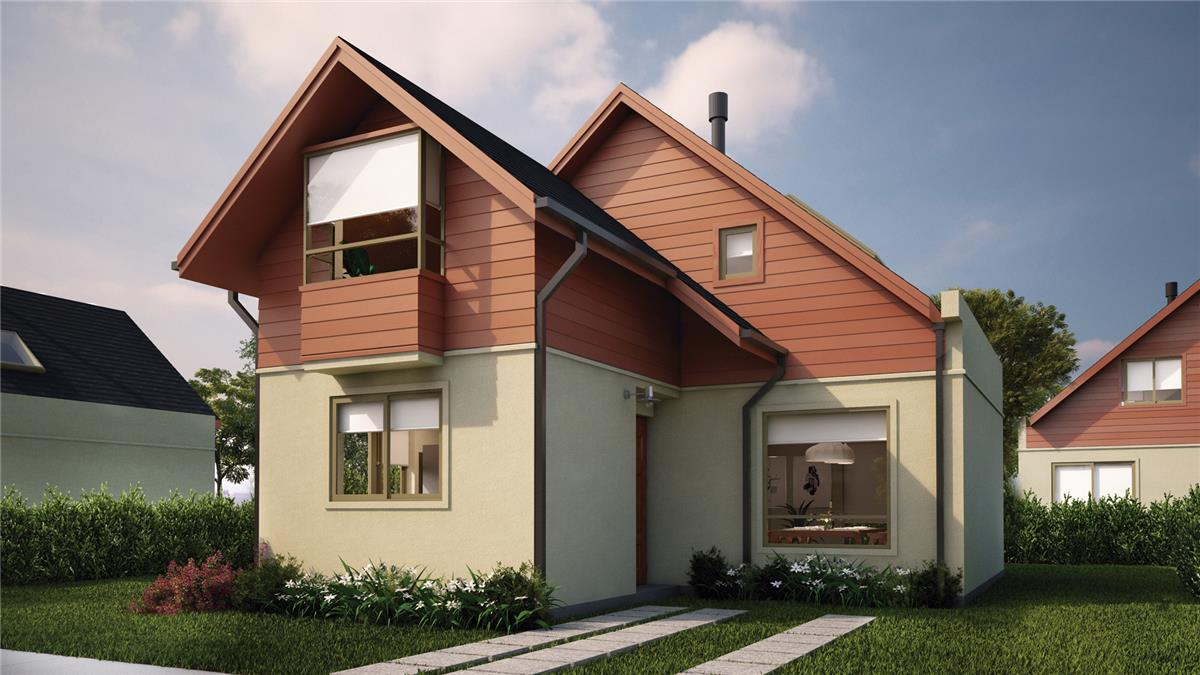 Proyecto condominio santa ana oriente casas casa en for Casas en condominio