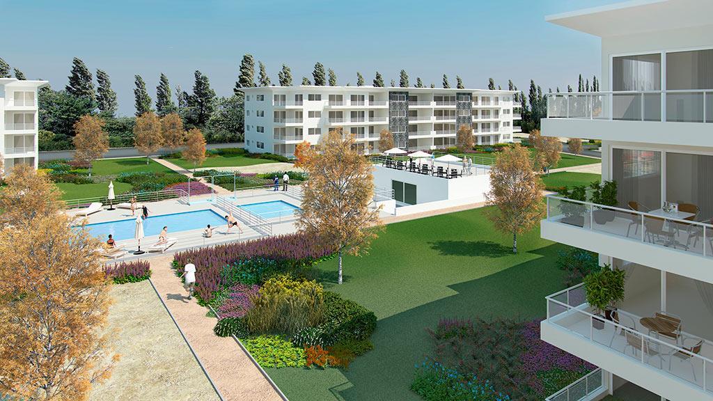 Proyecto edificios vista linderos departamento en venta for Piscinas merino