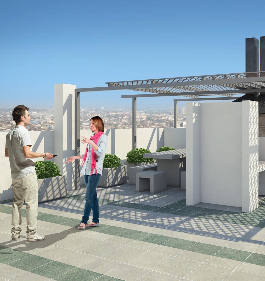 Proyecto Edificios Santiago Urbano Etapa Ii Departamento En  # Muebles Vanitorios Matucana