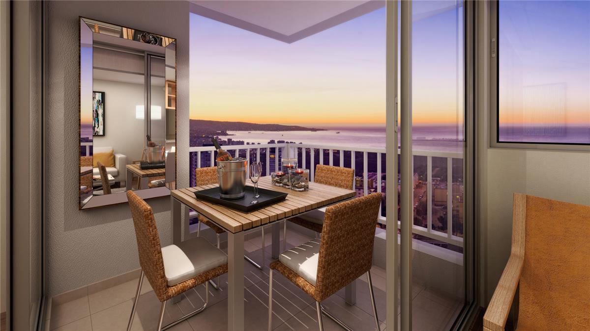 Proyecto edificio pacific blue departamento en venta for Muebles de oficina vina del mar