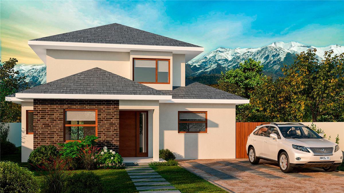 Proyecto casas las pircas 4220 casa en venta camino las - Casas nuevas en terrassa ...