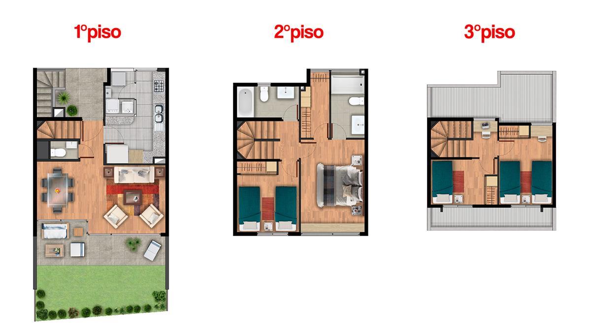 Proyecto los acacios townhouse casa en venta diego de for Caracteristicas de un comedor