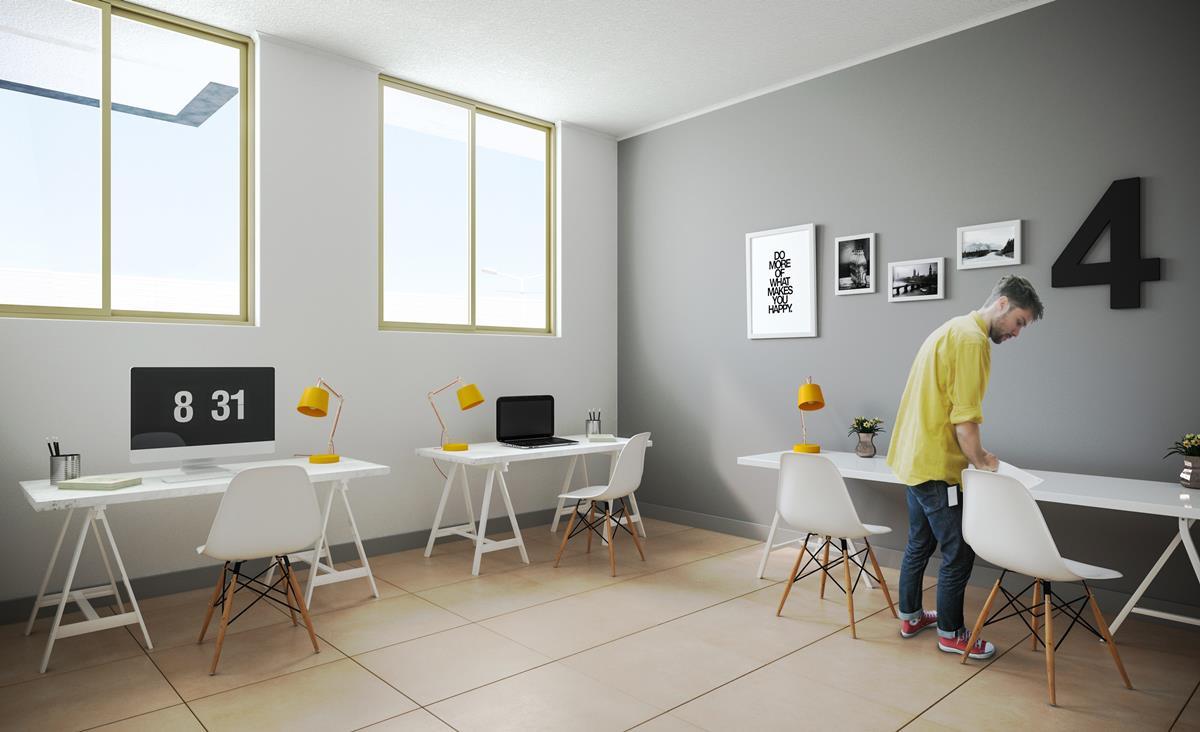 Proyecto Santiago Vistanova Departamento En Venta Matucana 1101  # Muebles Vanitorios Matucana