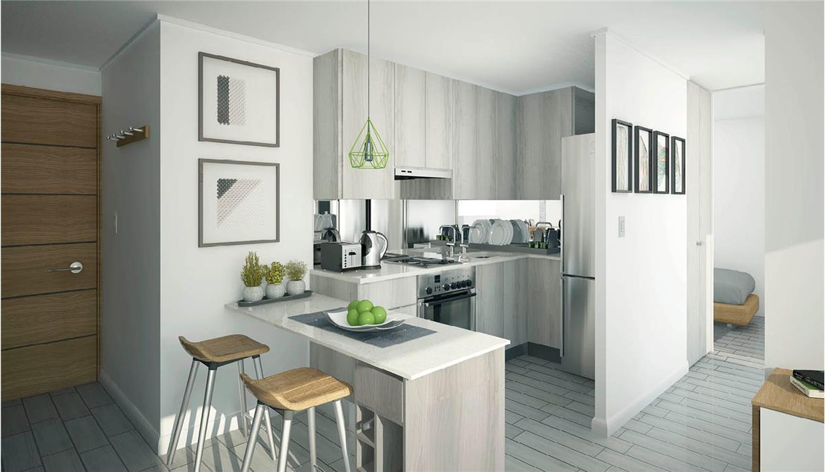Proyecto edificio radal departamento en venta radal 193 for Decoraciones interiores de departamentos