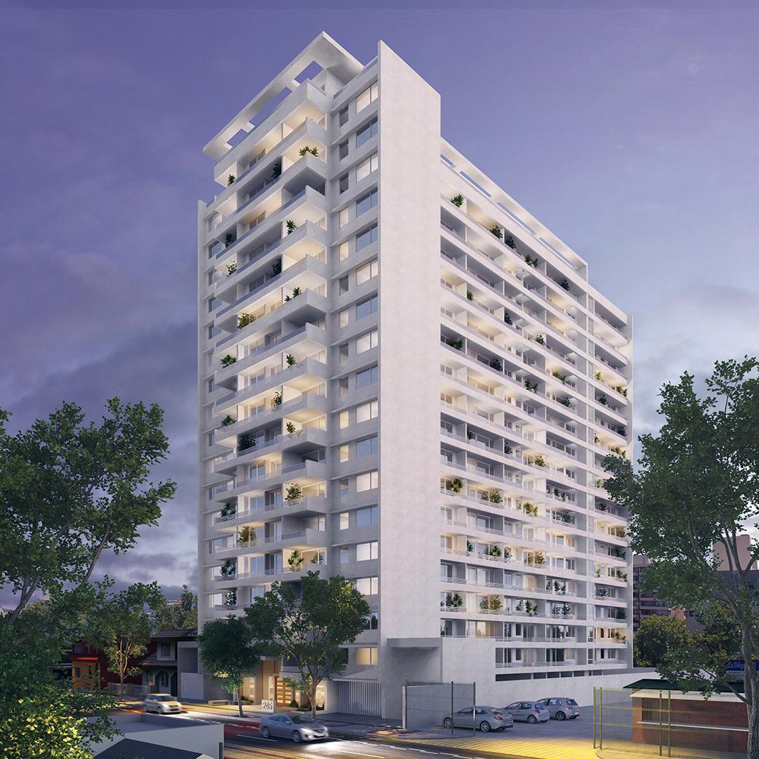 Proyecto edificio obispo salas 245 departamento en venta for Sala 7 concepcion