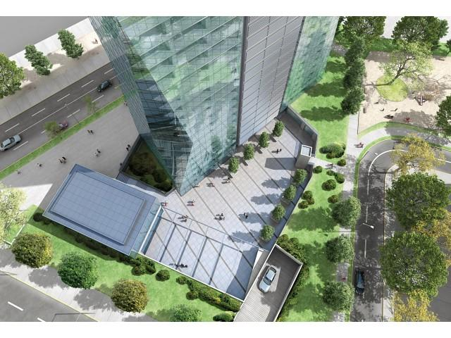 Santiago edificio quantum 18p e c skyscrapercity - Altura de un piso ...