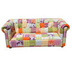 Sofa Chesterfield Patchwork
