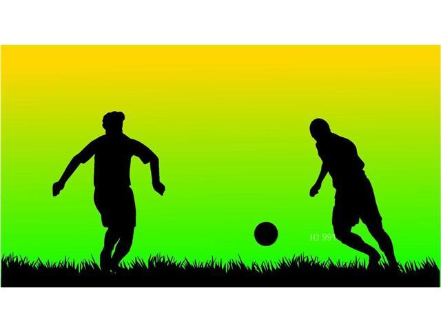 Diseño Muro Niños Futbol