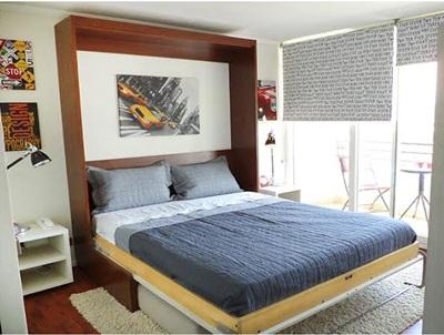 El moderno equipamiento que optimiza el espacio en los departamentos de 1 dormitorio