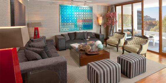El estilo de vivir en un penthouse
